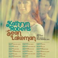 Kathryn Roberts & Sean Lakeman Autumn 2013 Tour Poster