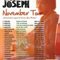 Ruarri Joseph Autumn Tour 2013