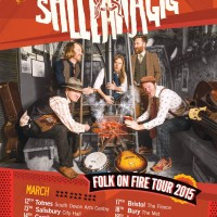 Sheelanagig Folk On Fire Tour Poster