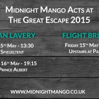 Great Escape 2015 Timings